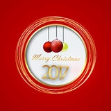 8个背景圣诞节eps文件包括的向量 免版税库存照片