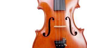 1 16个背景范围小提琴白色 片段 复制空间 免版税库存照片