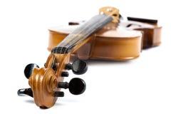 1 16个背景范围小提琴白色 免版税库存照片
