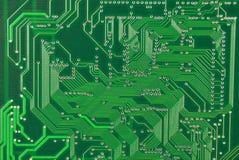10个背景蓝色董事会电路eps模式 免版税库存图片