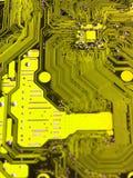 10个背景蓝色董事会电路eps模式 库存照片