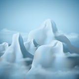 8个背景eps山脉 图库摄影