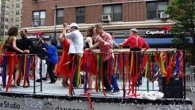 2013个舞蹈游行纽约115 免版税库存照片