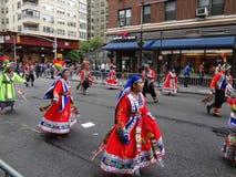 2013个舞蹈游行纽约118 库存照片