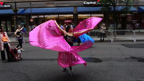 2013个舞蹈游行纽约147 免版税库存照片