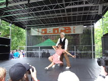 2013个舞蹈舞蹈节日32 库存照片