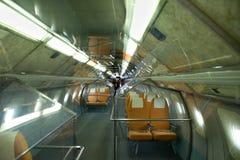 144个航空器超音速tu图波列夫 库存图片