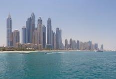 2012个被采取团结的阿拉伯地区迪拜酋长管辖区行军海滨广场照片 库存图片