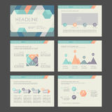 10个要素eps infographics 库存照片