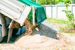 6个轮子卡车 免版税库存照片