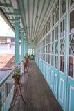 175个门的议院,瓜兰达 库存图片