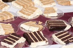 8个饼婚礼 免版税库存图片