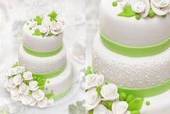 8个饼婚礼 图库摄影