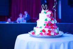 8个饼婚礼 库存照片