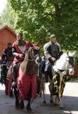 2个骑士比赛 图库摄影