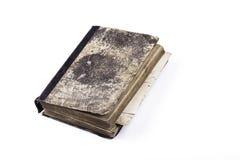 19个年龄背景书老发布的白色 免版税图库摄影