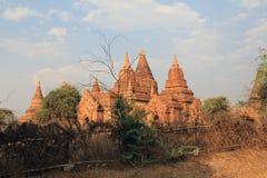 4个bagan寺庙 免版税库存照片