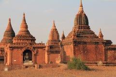2个bagan寺庙 免版税库存图片