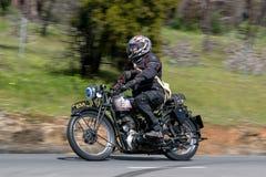 1939个BSA WM20摩托车 库存图片