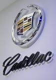 2013个GZ AUTOSHOW卡迪拉克商标 库存图片