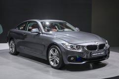 2013个GZ AUTOSHOW-BMW 4series小轿车 库存照片