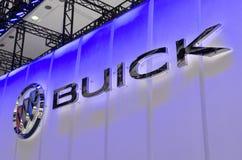 2013个GZ AUTOSHOW-BUICK商标 库存照片