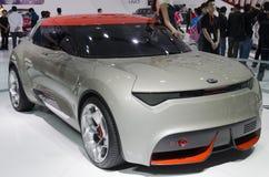 2013个GZ AUTOSHOW-KIA普罗沃概念汽车 免版税库存照片