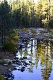 3个hdr图象山全景河垂直 图库摄影