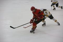 2017个IIHF冰球世界冠军-澳大利亚对比利时 免版税图库摄影
