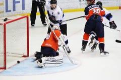 2016个IIHF冰球U20世界冠军 免版税库存照片
