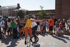 2015个NYC单轮脚踏车节日第2部分49 图库摄影