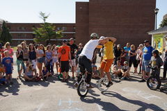 2015个NYC单轮脚踏车节日第2部分53 免版税库存照片