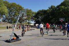 2015个NYC单轮脚踏车节日第2部分95 库存照片