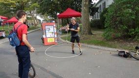 2013个NYC单轮脚踏车节日68 库存照片