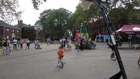 2013个NYC单轮脚踏车节日66 免版税图库摄影