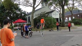 2013个NYC单轮脚踏车节日64 库存照片