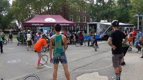 2013个NYC单轮脚踏车节日62 免版税库存照片