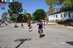 2015个NYC单轮脚踏车节日5 免版税库存图片