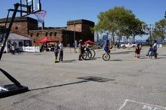 2015个NYC单轮脚踏车节日8 图库摄影