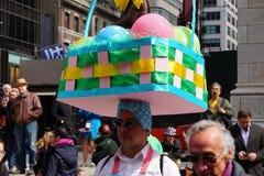 2015个NYC复活节游行&帽子节日10 免版税库存照片