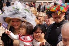 2015个NYC复活节游行&帽子节日14 免版税库存图片