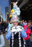 2014个NYC复活节游行9 库存图片