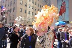 2014个NYC复活节游行15 免版税库存照片