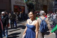 2014个NYC复活节游行16 免版税库存照片