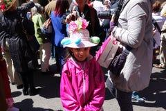 2014个NYC复活节游行27 库存图片