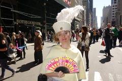 2014个NYC复活节游行27 库存照片