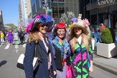 2014个NYC复活节游行33 库存图片