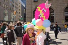 2014个NYC复活节游行34 库存图片
