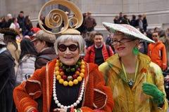 2015个NYC复活节游行127 免版税库存图片