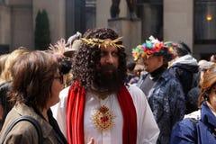 2015个NYC复活节游行118 库存照片
